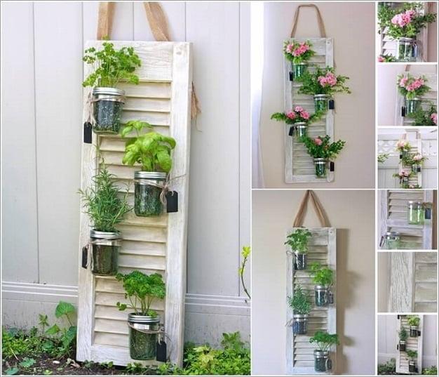 tường cây xanh đơn giản